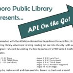 Library on the go flyer