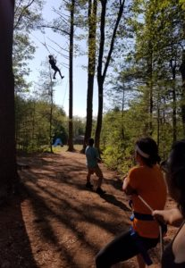 swing ropes course