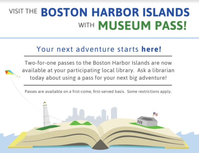 Travel to boston harbor islands with the library attleboro public we have a new discount opportunity for the boston harbor islands with a promo code provided by the library you can buy one get one free for up to four fandeluxe Image collections
